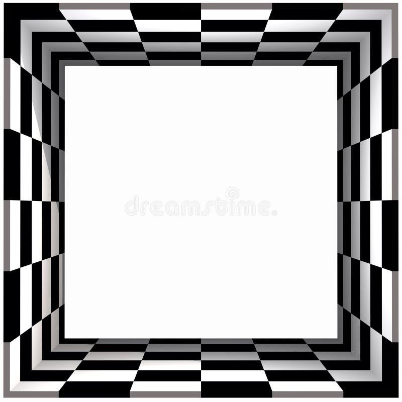 Download Box Frame Checker Board Royalty Free Stock Photos - Image: 1052758