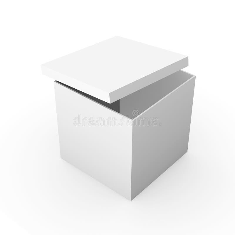 box generiskt royaltyfri illustrationer