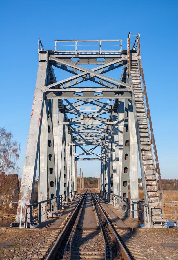 Free BOX-GIRDER TRAIN BRIDGE STEEL. Stock Images - 39686164