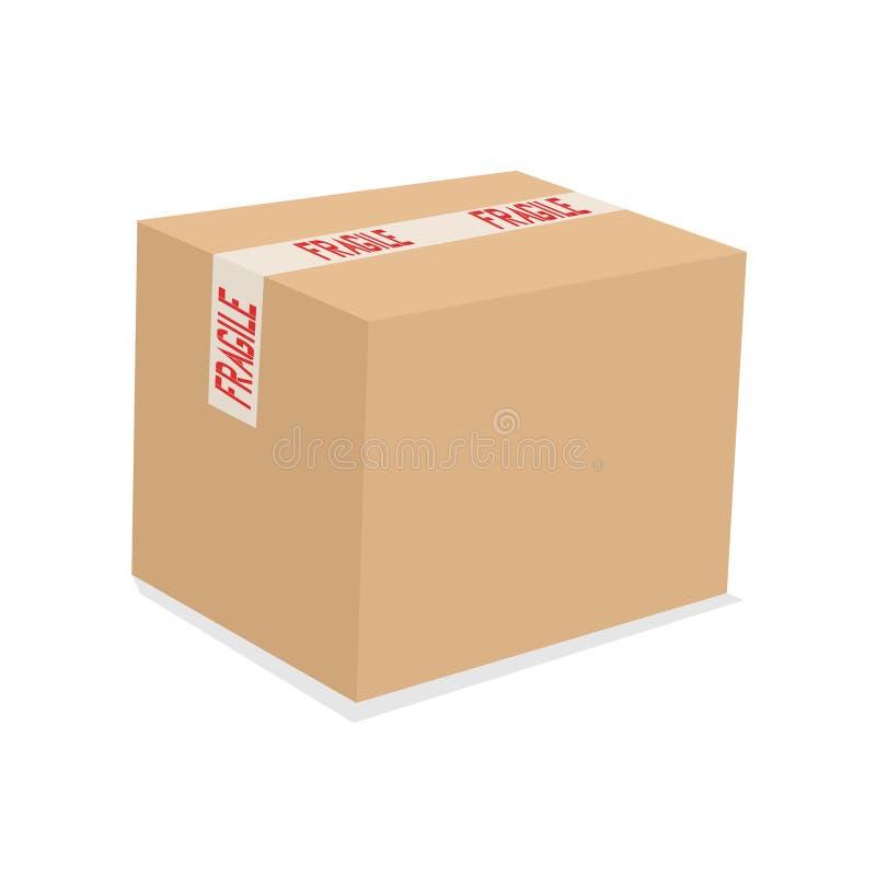 Box illustration stock illustration