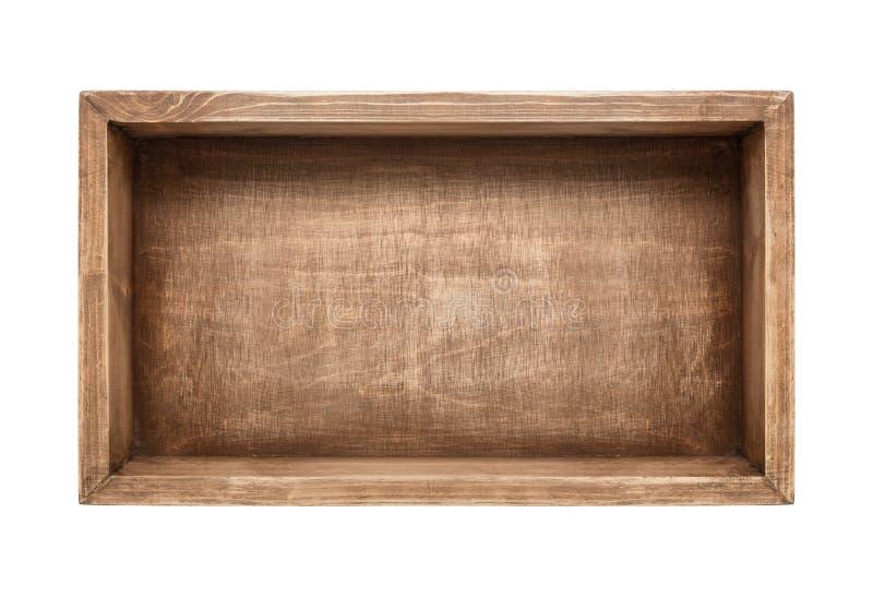 box isolated wooden стоковые фотографии rf