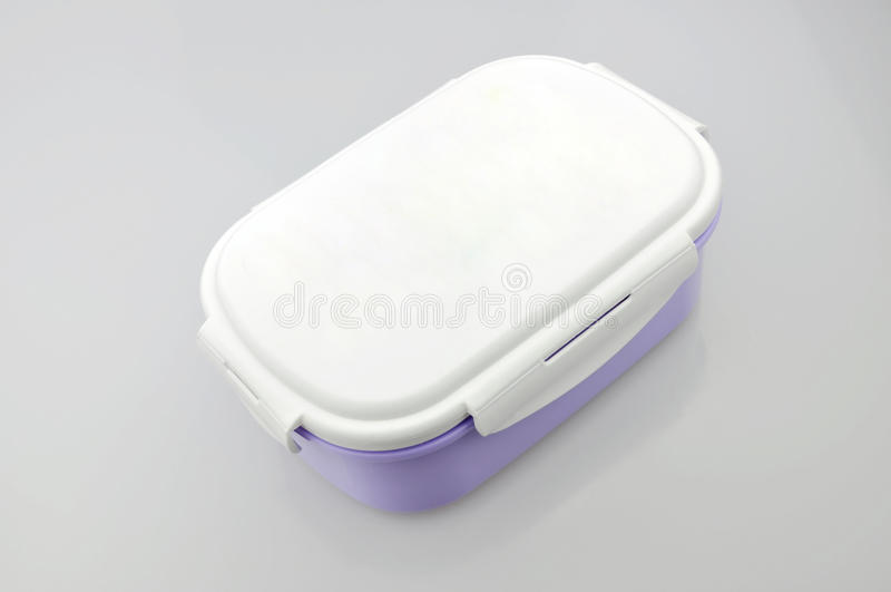 box lunch arkivfoton