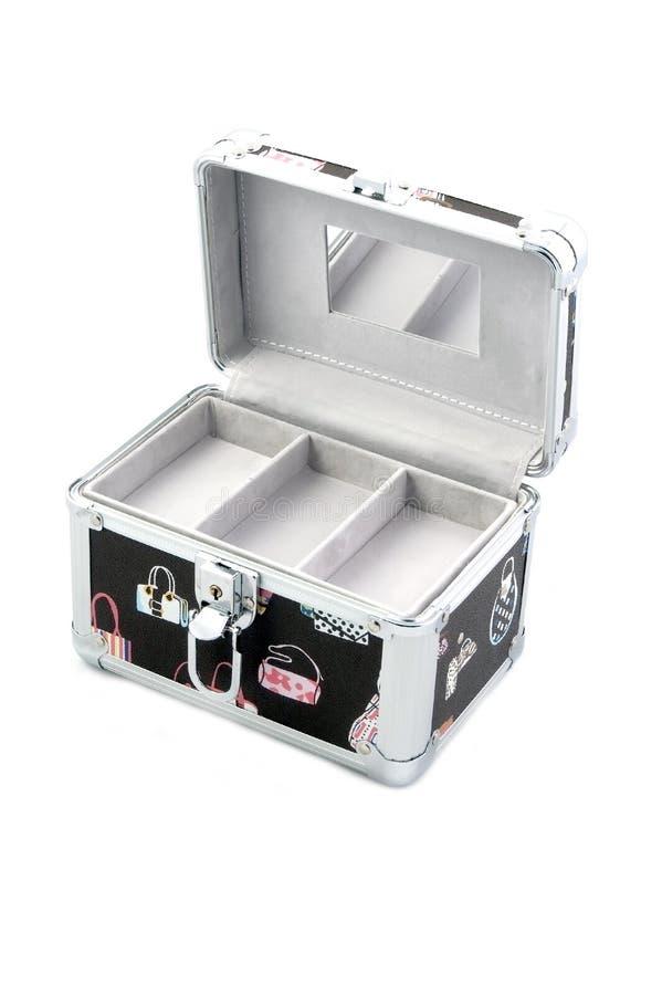 box makeup arkivbild