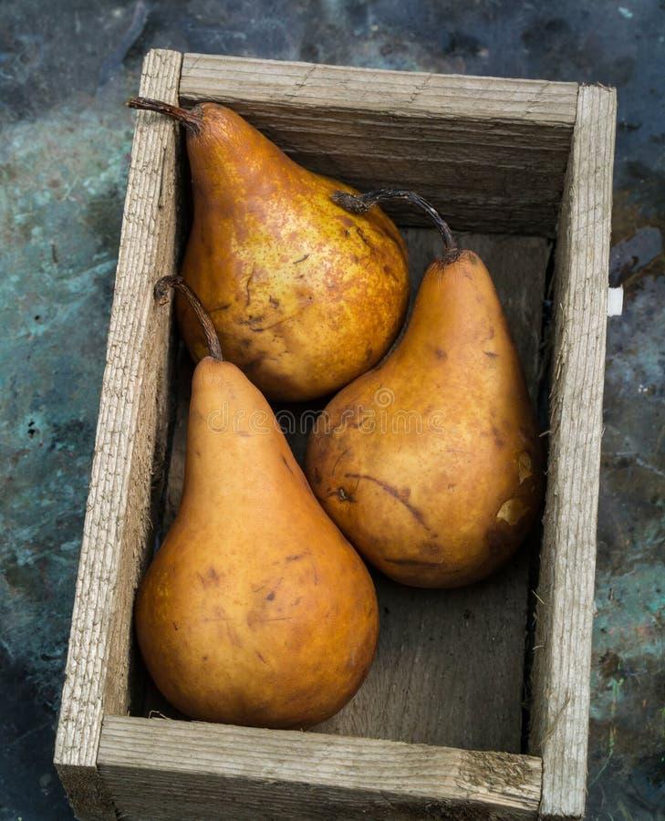 Box of Pear Fruit