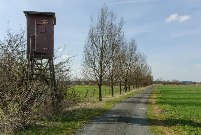 Download Box stand at a wayside stock photo. Image of hedge, area - 30321206
