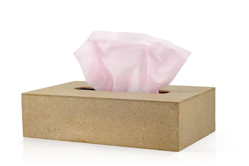 box tissue 免版税库存照片