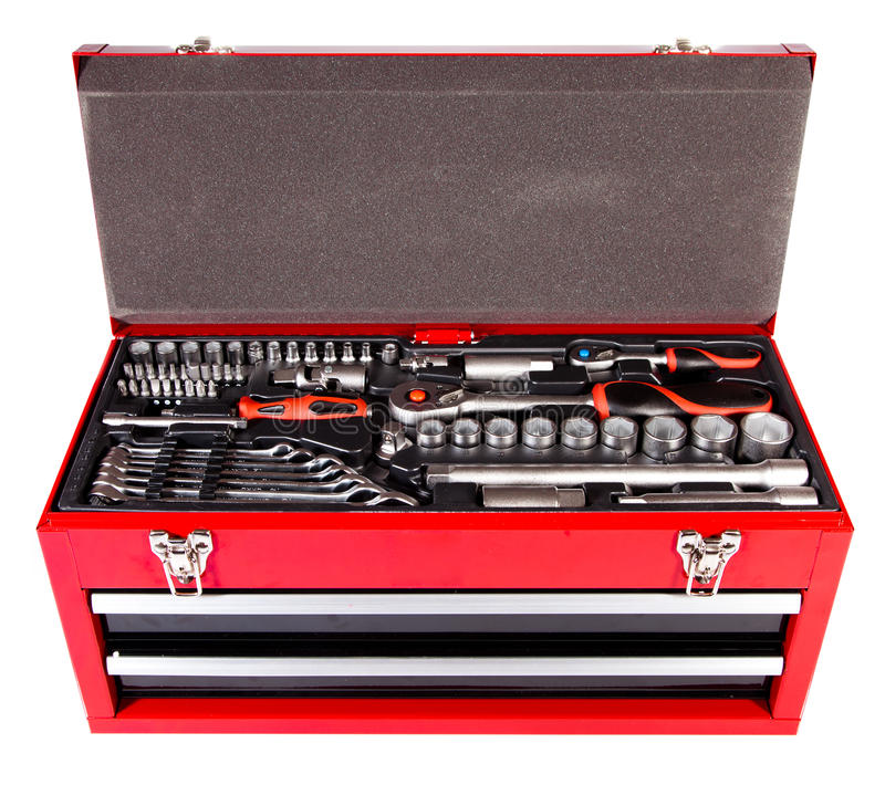 Download Box with the tool stock image. Image of object, toolbox - 22841813