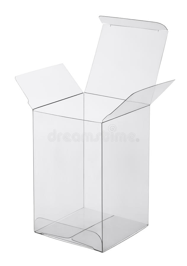 Download Box Of Transparent Plastic Stock Photography - Image: 29670512