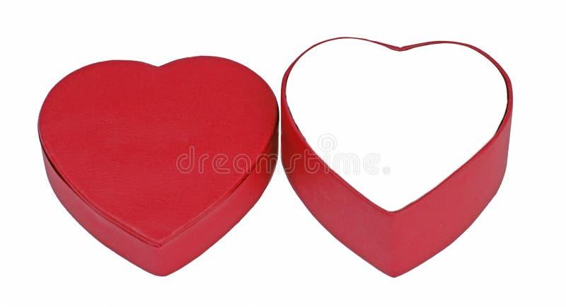 Box Valentine Royaltyfri Bild