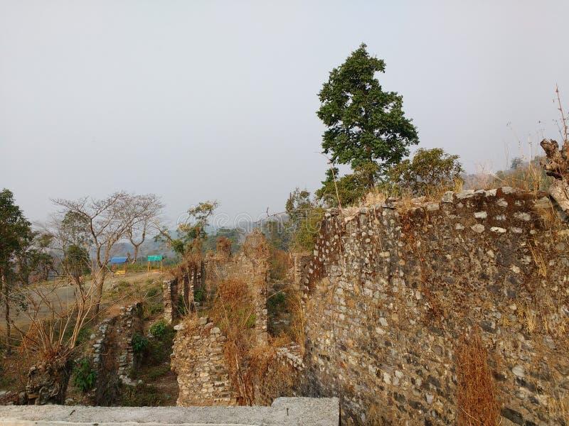 Boxa-Fort stockfoto