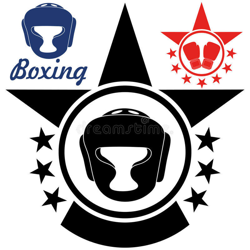 boxe illustration stock