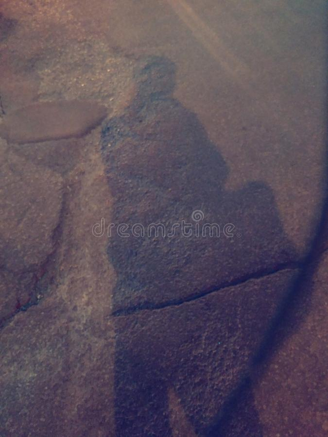 Boxe d'ombre image libre de droits