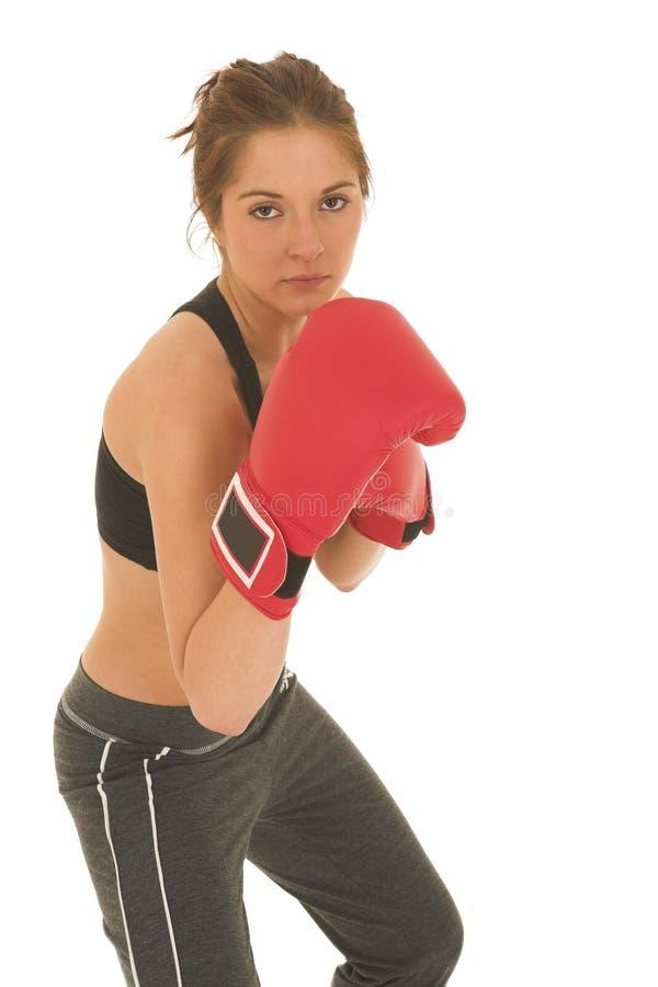 Download Boxeador #08 imagen de archivo. Imagen de ejercicio, hembra - 1286225