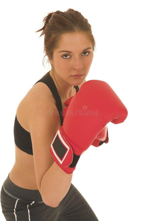 Download Boxeador #09 foto de archivo. Imagen de guantes, femenino - 1286266