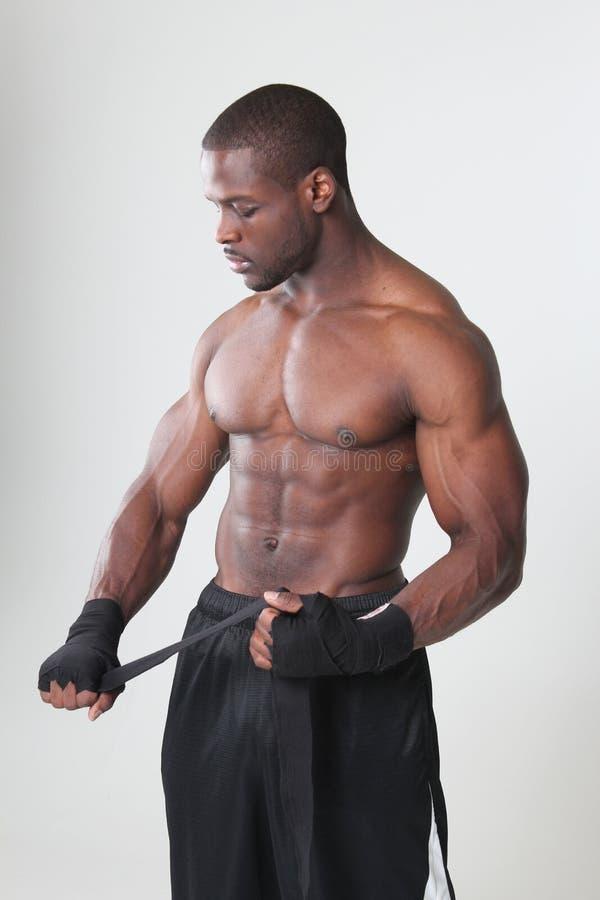 Boxeador foto de archivo libre de regalías