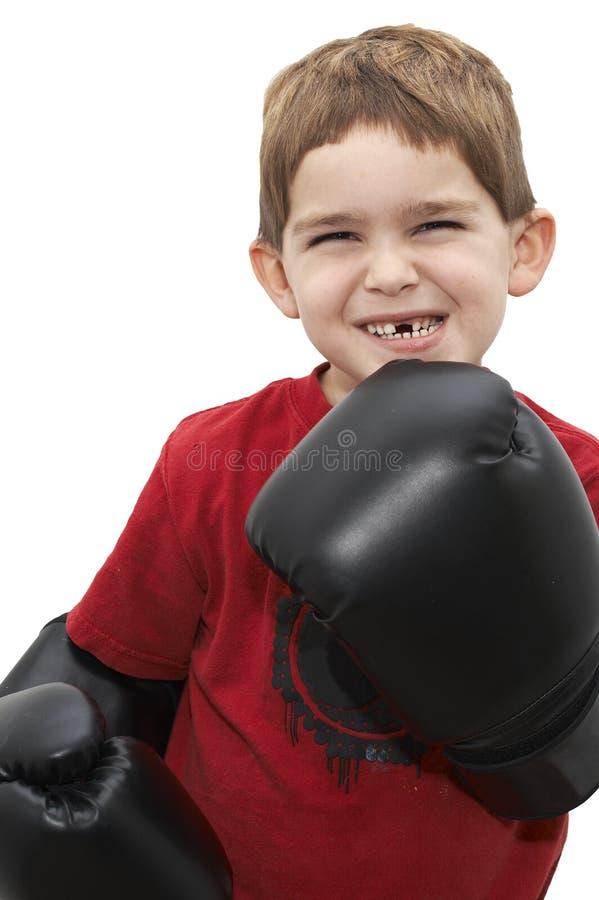Boxeador del cabrito imágenes de archivo libres de regalías