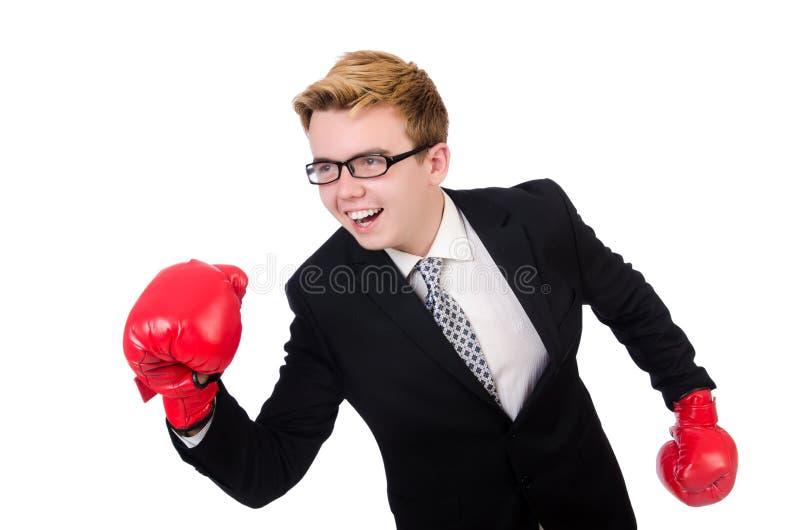 Download Boxeador Joven Del Hombre De Negocios Aislado Foto de archivo - Imagen de humor, caucásico: 41915138