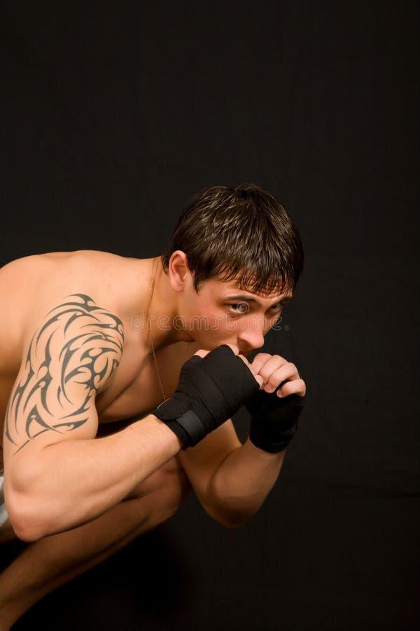 Boxeo. imagen de archivo