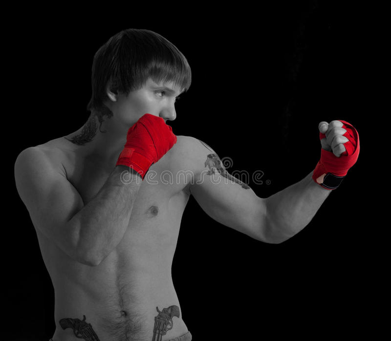 Download Boxer stock photo. Image of male, aggression, adult, competition - 23351614
