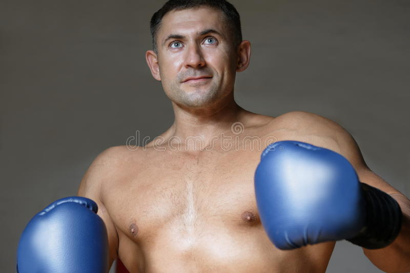Download Boxer stock image. Image of action, punching, arts, competition - 23543147