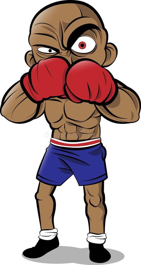 Boxer stock illustration