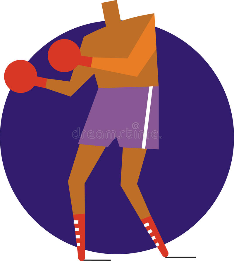 Download Boxer stock vector. Illustration of champ, bout, ring - 27082835