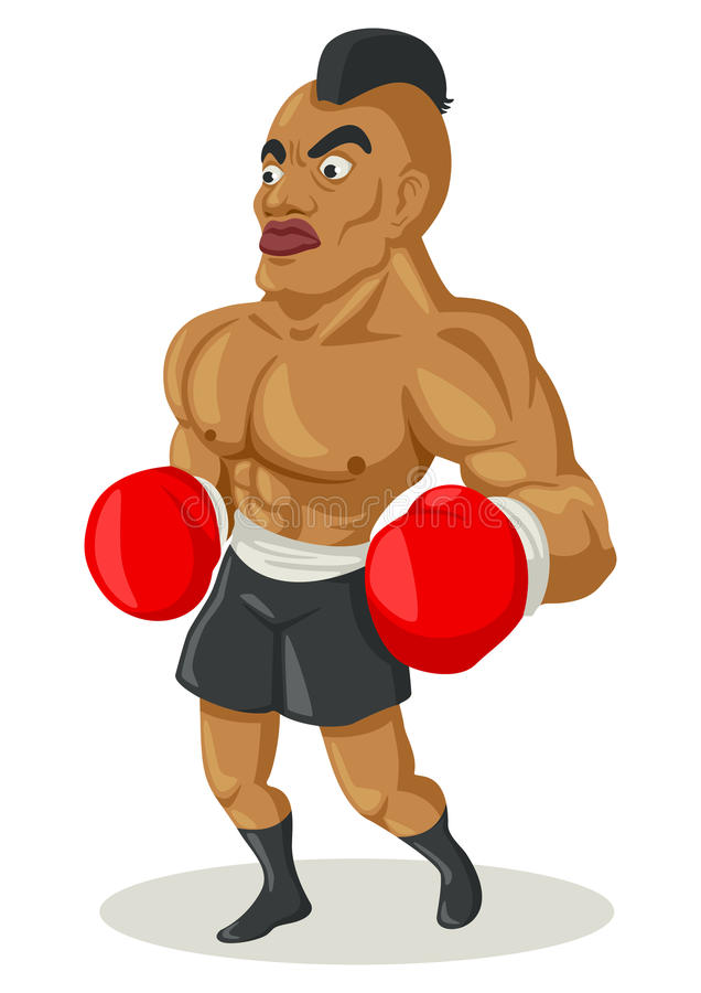 Download Boxer stock vector. Image of action, exercise, adult - 27822858