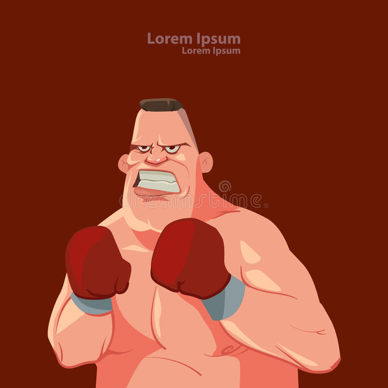 Boxer vector illustration