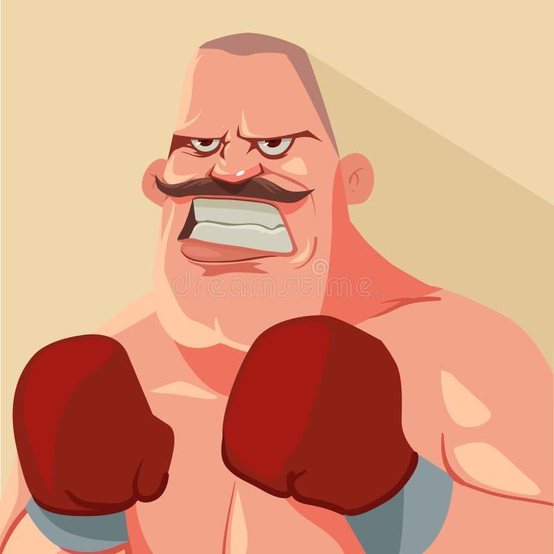 Boxer2 vector illustration