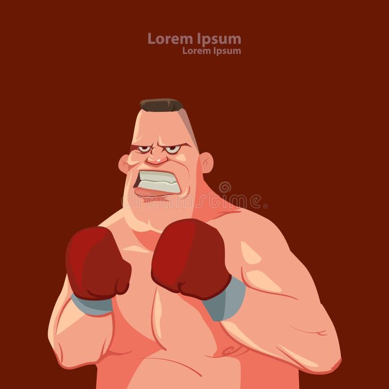 Boxer vector illustration