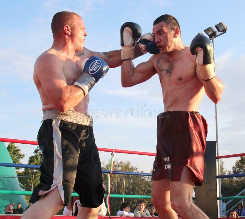 Download Boxer Luca Tassi Vs Sandor Ramocsa Match Editorial Stock Photo - Image: 24657233