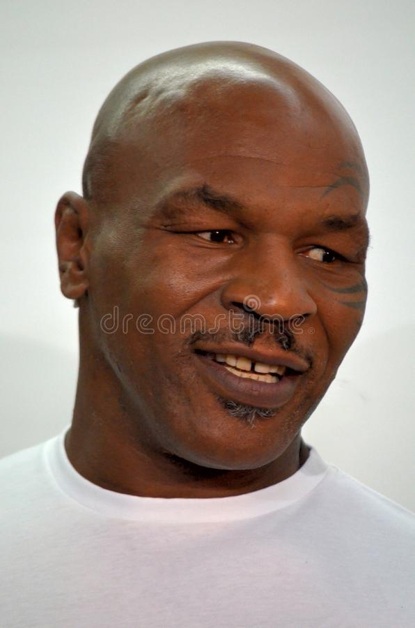 Boxer Mike Tyson. American former professional boxer Mike Tyson stock images