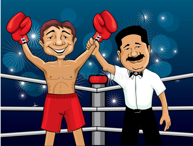 Boxer Winner Stock Photos