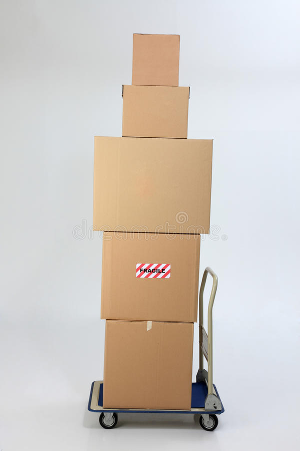 Download Boxes stock photo. Image of action, moving, isolated - 11400330