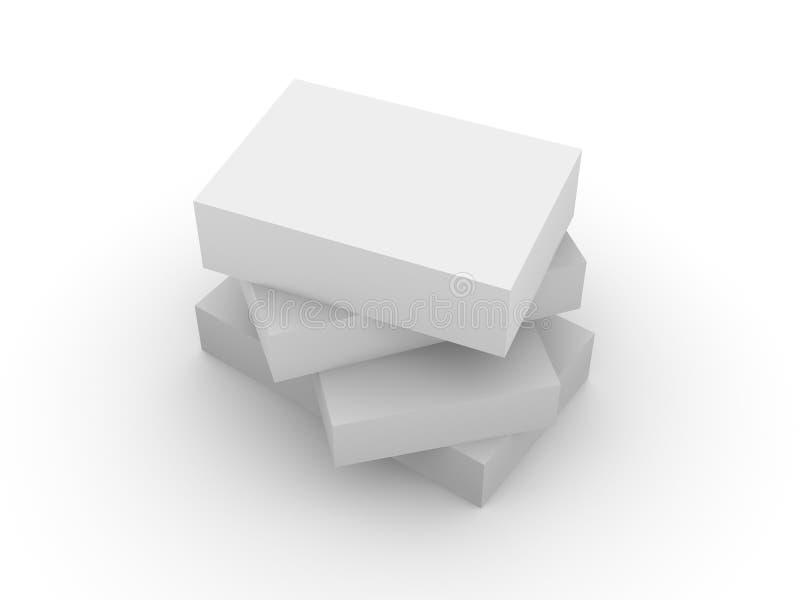Boxes_3 royalty illustrazione gratis