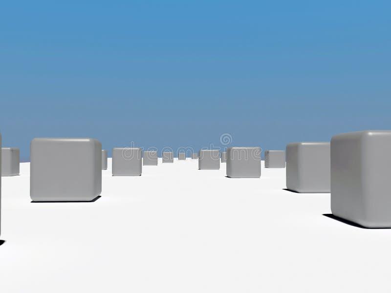 Boxes stock illustration