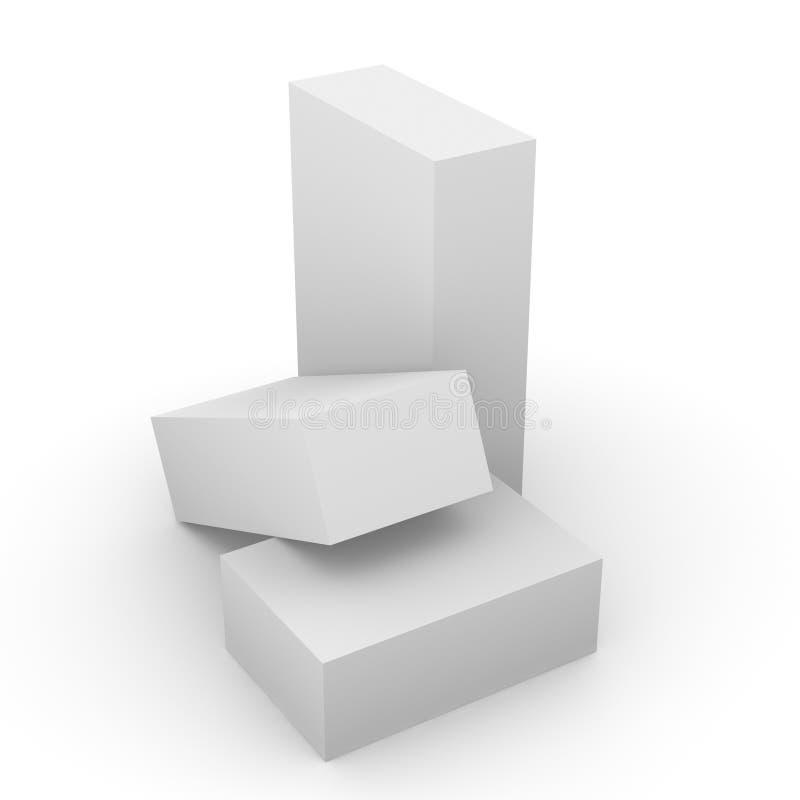 Boxes_5 illustrazione di stock