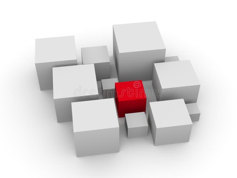 Boxes_6 vector illustratie
