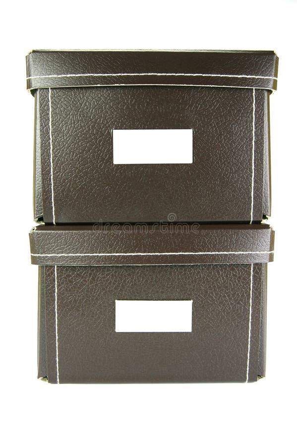 boxes brevpapper arkivfoto
