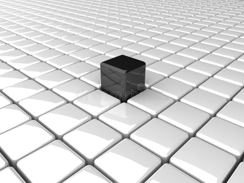 boxes bw vektor illustrationer