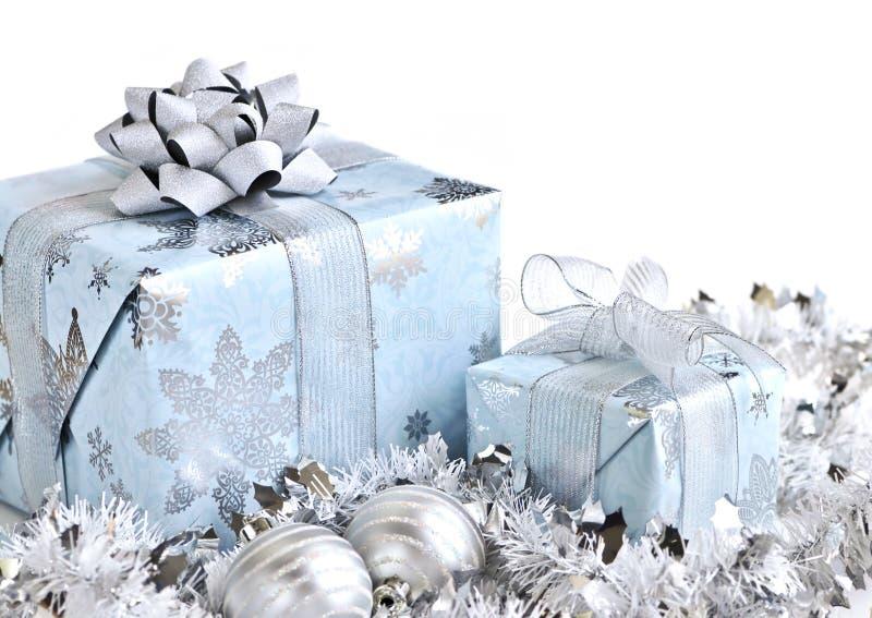 boxes julgåvan arkivbilder
