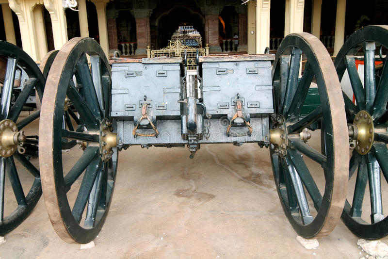Download Boxes For Keeping Artillery Vintage Canon Carriage Stock Photo - Image: 26617270