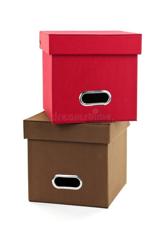 boxes lagring arkivfoto