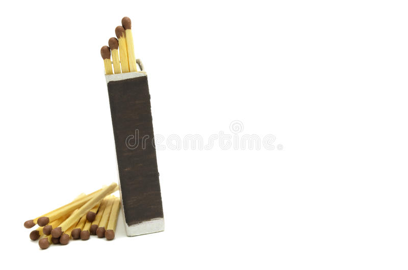 Boxes of matches stock photos