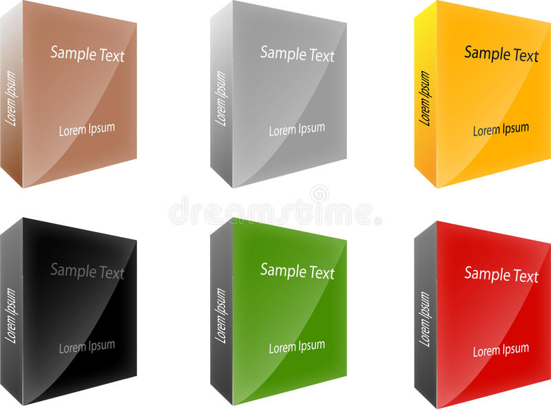 Boxes Packages Stock Image
