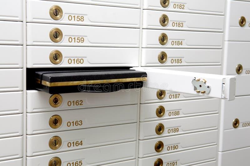 boxes säkerhet arkivbild