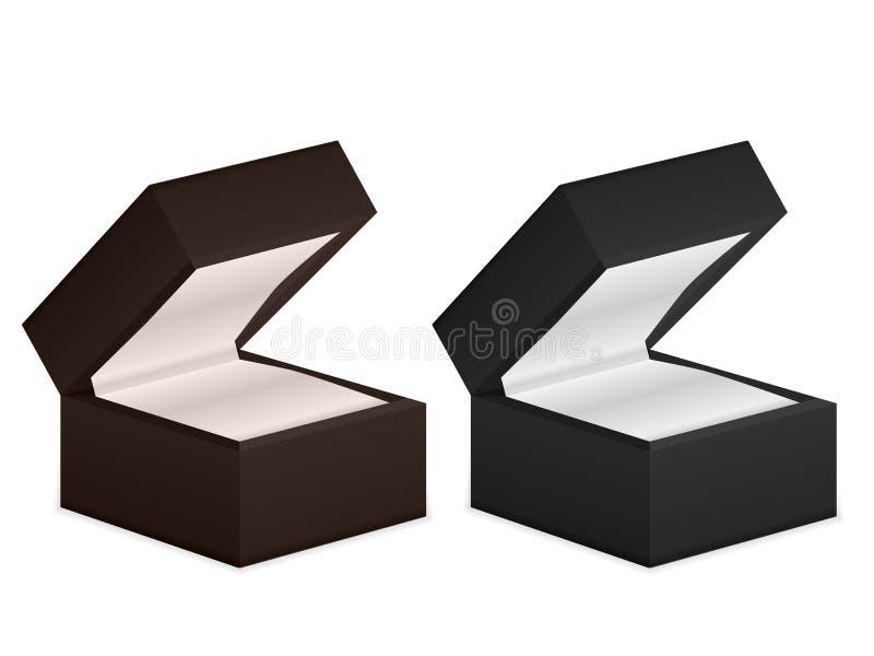 Download Boxes smycken vektor illustrationer. Illustration av gåva - 76702271