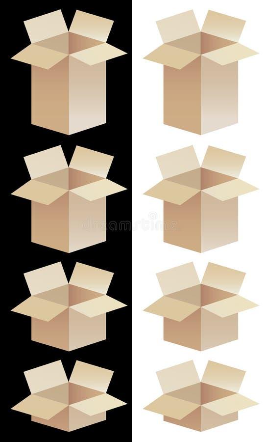Boxes71207 ilustración del vector