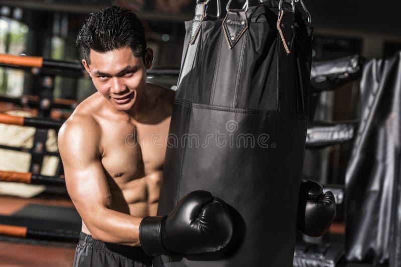 boxeur asiatique photos libres de droits