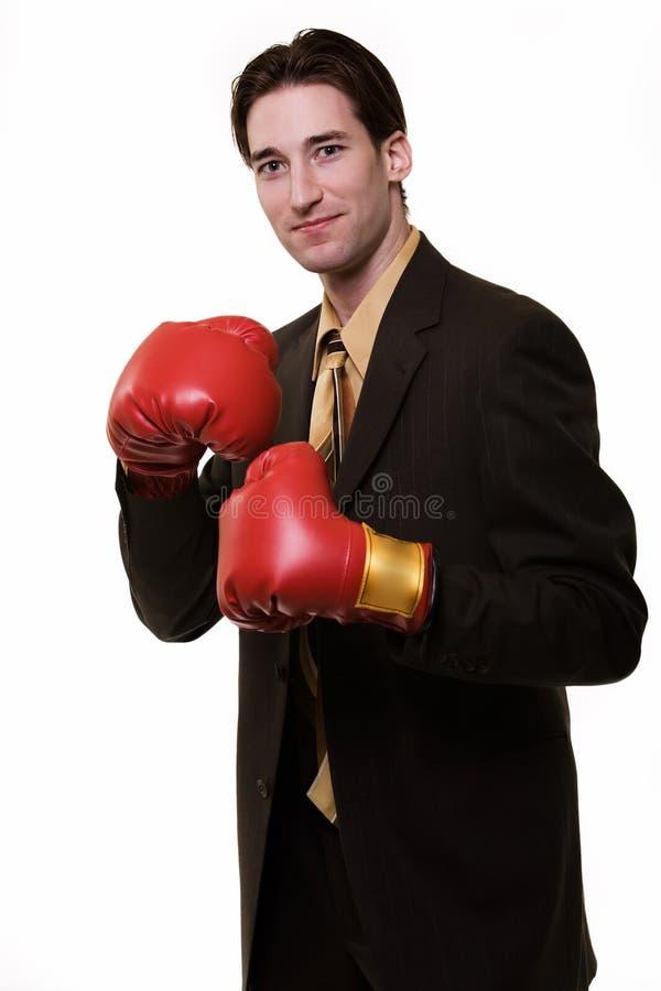 Boxeur d'affaires photos libres de droits